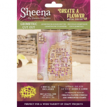 Sheena Create a Flower Metal Die - Geometric Cut Out