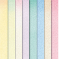 Craft Creations Creative Background Paper Mixed Packs - Painted Pastel