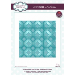 Creative Expressions Craft Dies by Sue Wilson - Background Collection - Diamond Squares
