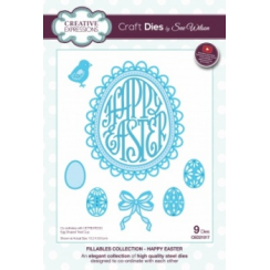 Creative Expressions Craft Dies by Sue Wilson - Fillables - Happy Easter