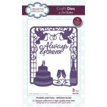 Creative Expressions Craft Dies by Sue Wilson - Frames & Tags - Wedded Bliss