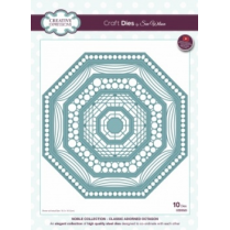 Creative Expressions Craft Dies by Sue Wilson - Noble Collection - Classic Adorned Octagon