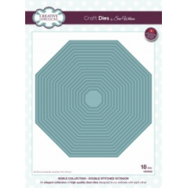 Creative Expressions Craft Dies by Sue Wilson - Noble Collection - Double Stitched Octagon