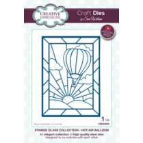 Creative Expressions Craft Dies by Sue Wilson - Stained Glass Collection - Hot Air Balloon