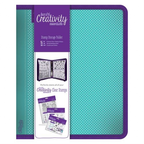 Docrafts Creativity Essentials Stamp Storage Folder