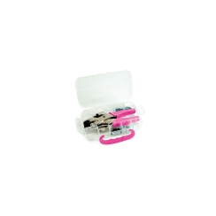 We R Memory Keepers Crop-A-Dile Hole Punch & Eyelet Setter (Pink Kit)