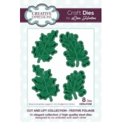 Creative Expressions Cut and Lift Collection - Festive Foliage