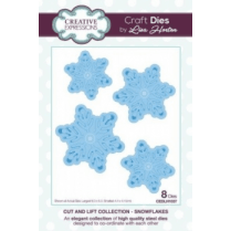 Creative Expressions Cut and Lift Collection - Snowflakes