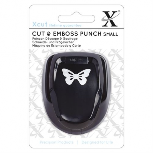 X-cut Cut & Emboss Punch - Small - Butterfly