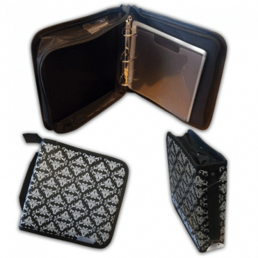 Cutting Die Binder Storage Case & 10 Sleeves