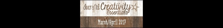 Docrafts Promotion March/April 2017