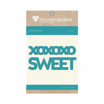 Diamond Press Word Dies - Sweet XOXO