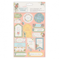 Docrafts Die-cut Sentiments (2pk) - Freshly Cut Flowers