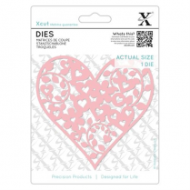Docrafts Dies (1pc) - Floral Love Heart