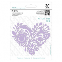 Docrafts Dies (1pc)- Folk Heart