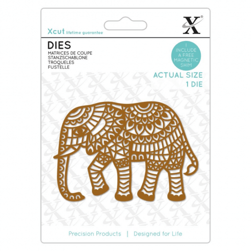 X-cut DIES (1PC) - INDIAN ELEPHANT