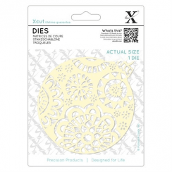 X-cut Dies (1pc) - Large Ornate Bauble