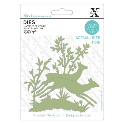 X-cut DIES (1PC) - LEAPING FAWNS