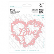 X-cut Dies (1pc) - Love Heart
