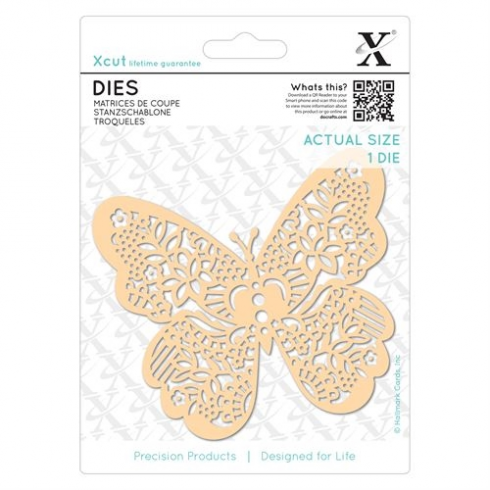 X-cut Dies (1pc) - Ornate Butterfly