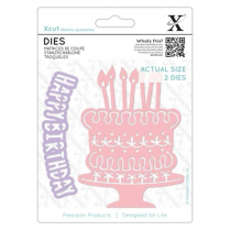Docrafts Dies (2pcs) - Birthday Cake