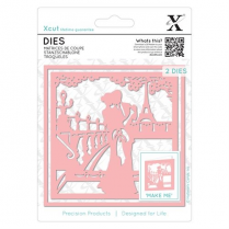 X-cut Dies (2pcs) - Paris In Love
