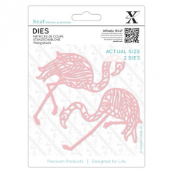 Docrafts Dies (2pcs) - Tropical Flamingo