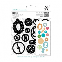 X-cut Dies - Buttons (15pcs)