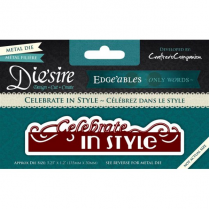 Diesire Edgeables Only Words - Celebrate in Style