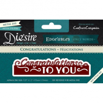 Diesire Edgeables Only Words - Congratulations To You BA2560