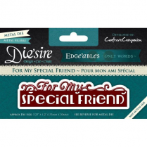 Diesire Edgeables Only Words - For My special Friend BA2561