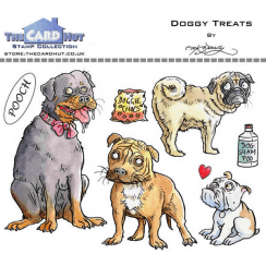 The Card Hut DOGGY TREATS - STAMP SET