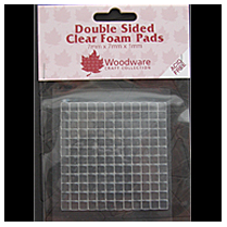Woodware Double sided Clear Foam Pads