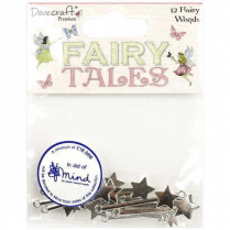 Dovecraft Premium Fairy Tales - Metal Fairy Wands