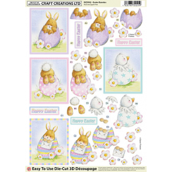 Craft Creations Easter Bunnies