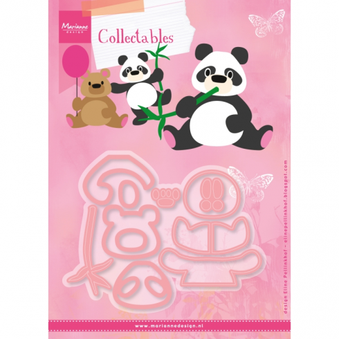Marianne Designs Elines Panda & Bear Collectable