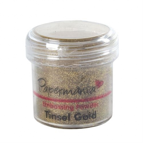 Embossing Powder Tinsel Gold