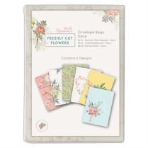 Docrafts Envelopes Bags (6pk) - Freshly Cut Flowers