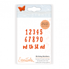 Tonic Studios ESSENTIALS – BIRTHDAY NUMBERS