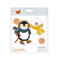 Tonic Studios Essentials - Christmas Buildables - Percy Penguin & Stan Snowman