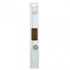 Stick It Excel Glue Sticks Glitter (10pcs) - Metallic Gold