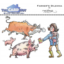 The Card Hut FARMERS DILEMMA - STAMP SET