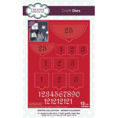 Creative Expressions Festive Collection - Advent Calendar