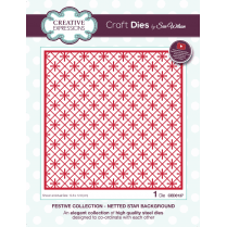 Creative Expressions Festive Collection Netted Star Background CED3137