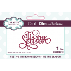 Creative Expressions Festive Collection Tis The Season