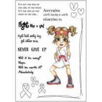 Creative Expressions Fight Betty Clear Stamp Set