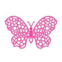 Sweet Dixie Floral Butterfly Die