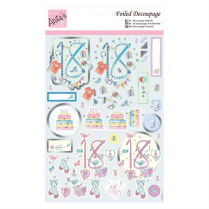 Anitas Foiled Decoupage - 18th Birthday