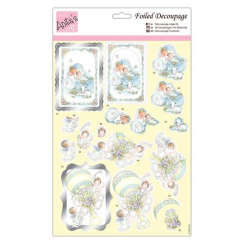Anitas Foiled Decoupage - Baby Bliss