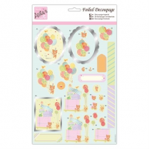 Anitas Foiled Decoupage - Balloon Surprise